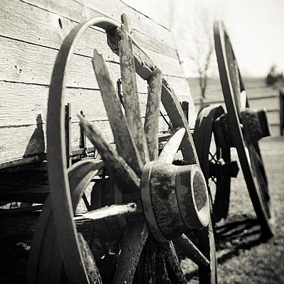 Broken wheel